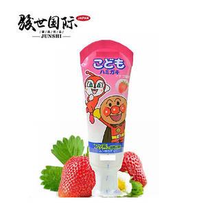Lion Kids Anpanman слабоабразивная дитяча зубна паста зі смаком полуниці 40 гр