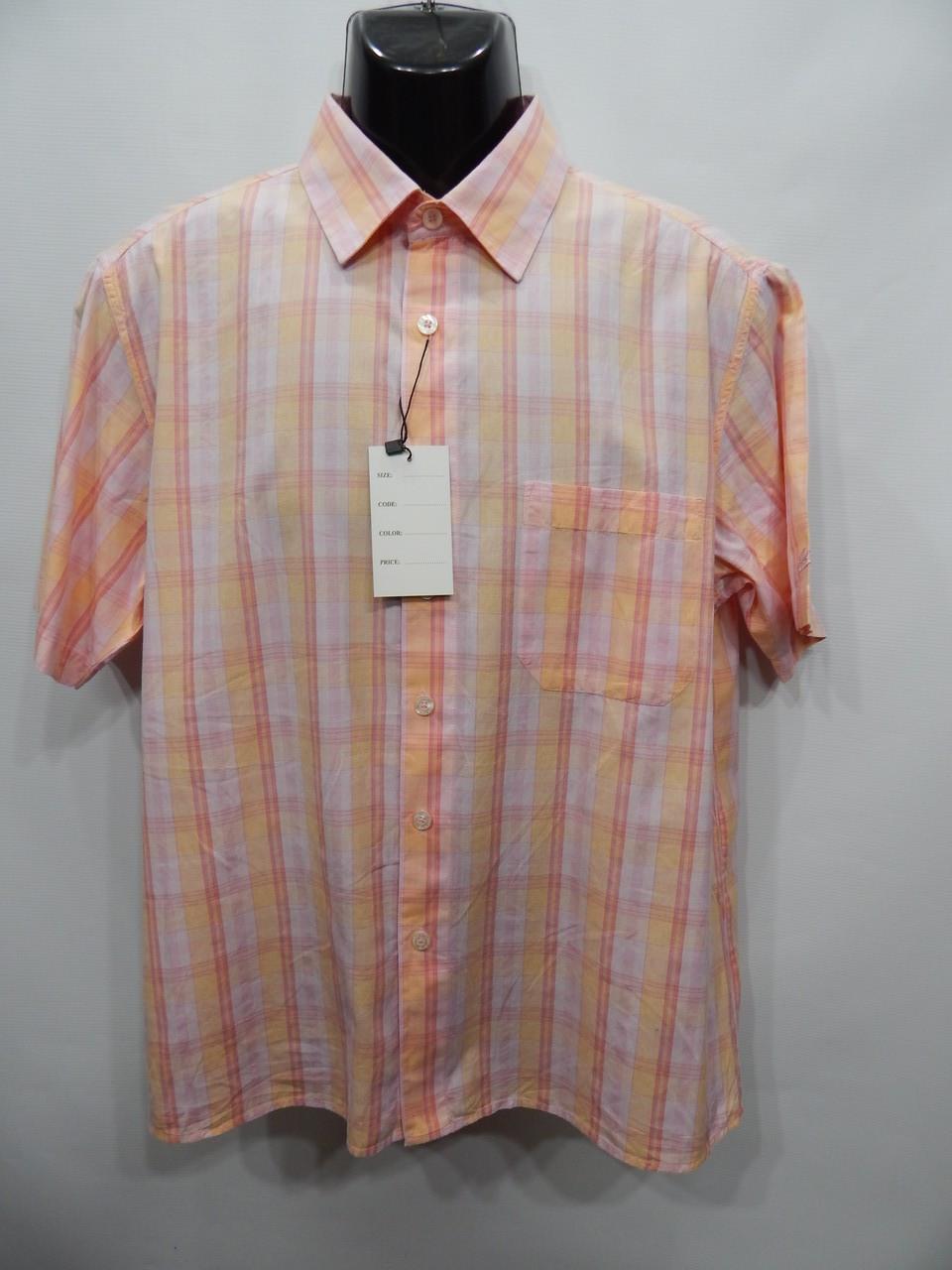 Чоловіча сорочка з коротким рукавом Juleps оригінал (084КР) р. 50