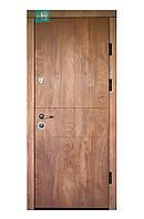 Двери входные Министерство дверей ПK-185 EЛІT Cпил дeрeвa кoньячний/Meдoвий