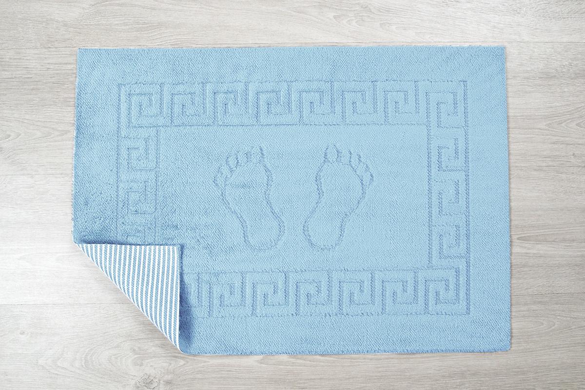 Коврик для ванной Lotus - 45*65 голубой