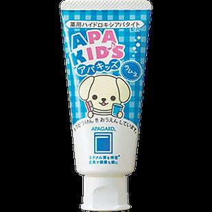 Apagard Apakids Високоефективна відбілююча зубна паста з нано-гідроксиапатитом для дітей, смак лимонаду