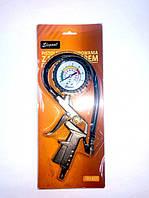 Пистолет для накачки колес 16Атм с манометром (пр-во Elegant,Польша) EL 102 837