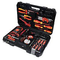 Набор инструментов для электриков 1/4 68 эл. YATO YT-39009