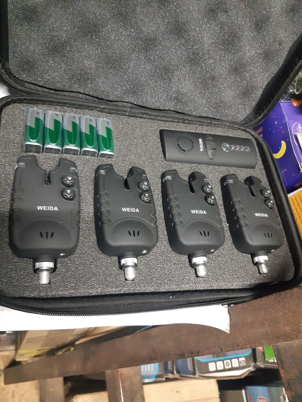 Набор сигнализаторов с пейджером Weida FA24-4