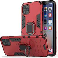Чехол Ring Armor для Apple iPhone 11 Pro Max Red