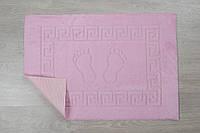 Коврик для ванной Lotus - 45*65 светло-розовый прорезиненный