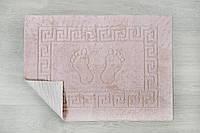 Коврик для ванной Lotus - 45*65 глициния прорезиненный