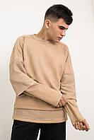Свитшот мужской Side x beige / кофта весенняя осенняя / ЛЮКС качества, фото 1