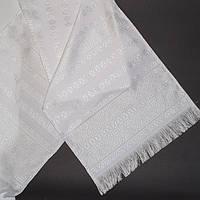 Свадебный белый рушник 150 см