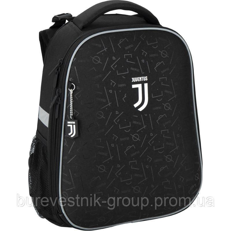 Рюкзак школьный каркасный ортопедический (ранец) 531 Kite FC Juventus ( JV20-531M )