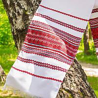 Тканый украинский рушник 240 см на свадьбу