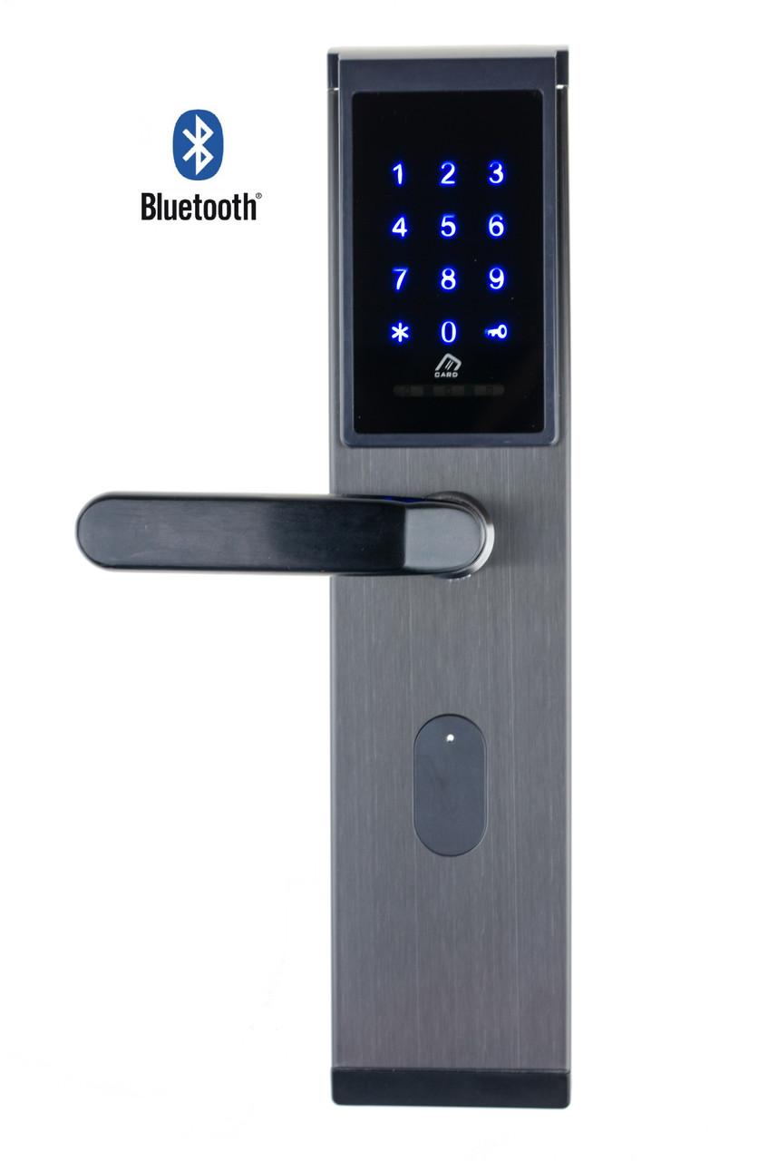 Автономный RFID замок SEVEN Lock SL-7735B Black