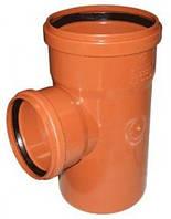 Тройник наружная канализация ПП 200x160/90° МПЛАСТ