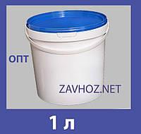 Ведро пластиковое 1л белое