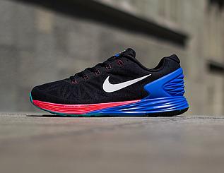 Кроссовки мужские Nike Lunarglide 6  / LRM-027 (Реплика)