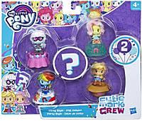 Набор 5 милых пони Стильная вечеринка  Littlest Pet Shop Hasbro E0193/E2730, фото 1