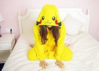 Кигуруми пижама Пикачу(покимон)