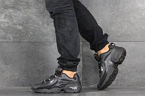 Чоловічі кроссовки Reebok чорні. [Розміри в наявності: 41,44,45]