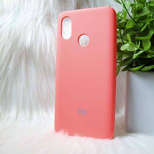 Силіконовий чохол Original Silicone case Xiaomi Mi8 Pink (рожевий)