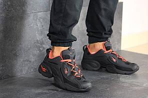 Чоловічі кроссовки Reebok чорний / оранжевий. [Розміри в наявності: 41,44,45]