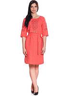 Нарядное женское платье-вышиванка (S-2XL)