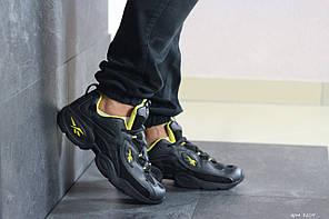 Чоловічі кроссовки Reebok чорний / жовтий. [Розміри в наявності: 41,42,44,45,46]