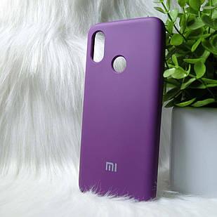 Силіконовий чохол Original Silicone case Xiaomi Mi8 Purple (фіолетовий)
