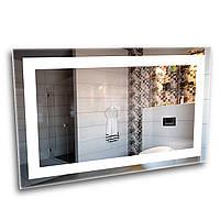 Зеркало с LED подсветкой 600х500 см для ванной комнаты (6-1)