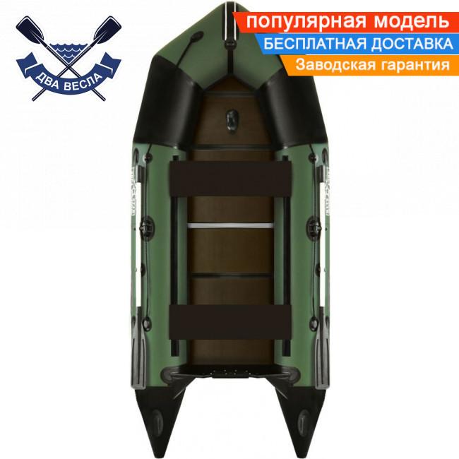 Килевая лодка Aqua Star C-360 пятиместная с жестким дном и усилениями под кильсоном, баллон 43