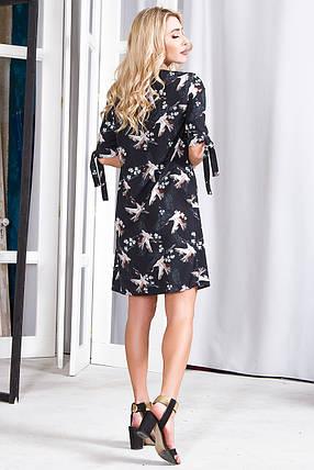 Платье 630 черное аист, фото 2