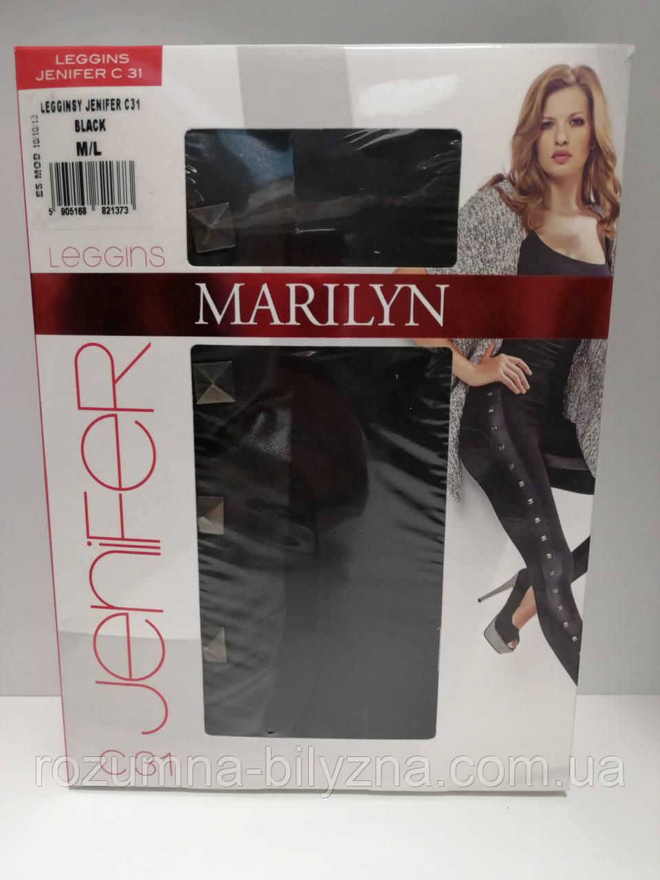 Лосіни жіночі Jenifer, 180 den, чорний, TM Marilyne, Польща