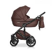 Детская универсальная коляска 2 в 1 Riko Naturo Ecco 03 Chocolate