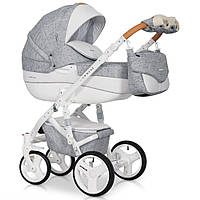 Детская универсальная коляска 2 в 1 Riko Brano Luxe 05 Grey Fox