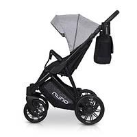 Детская универсальная прогулочная коляска Riko Nuno 05 Grey Fox