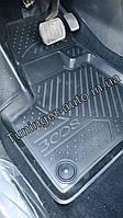 Ковры в салон PEUGEOT 3008, 2017->, SUV, 4 шт. (полиуретан) 3D ELEMENT3D3835210k