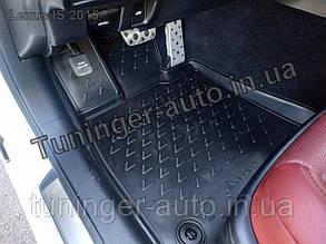 Коврики в салон Lexus IS 2013- 4 шт. (полиуретан)