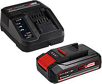 Зарядное устройство + аккумулятор Einhell Power X-Change 18 V / 2.5 Ah Li-Ion (4512097)