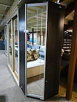 Шкаф-купе 800х800х2200 фон зеркало А-01-151 венге м. 0384/01 (Алекса)
