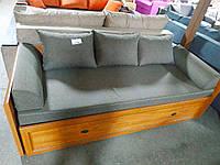 Кровать Севилла 800/1600/2020 раздвижн.+матрас+подушки клен онтарио (БРВ)