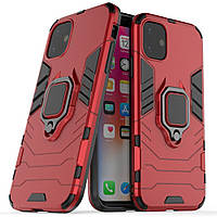 Чехол Ring Armor для Apple iPhone 11 Red