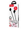 Вакуумные наушники Hoco M56, проводные наушники с микрофоном