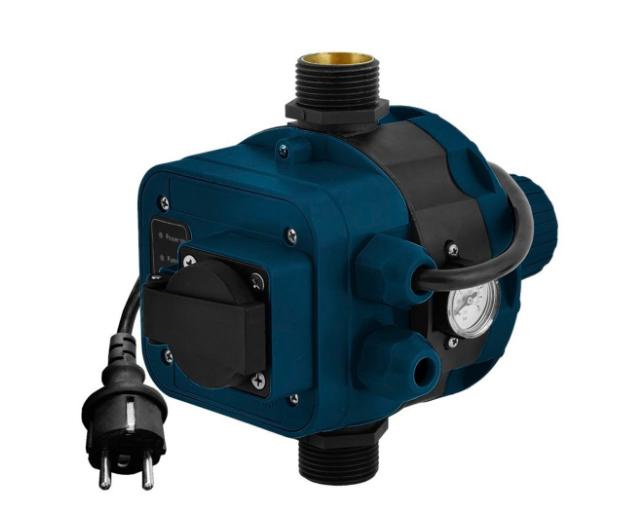 Контролер давления электронный 1.1 КВТ Ø1 + розетка Katran (779756)