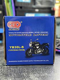 Аккумулятор мото Outdo 30Ah YB30L-В