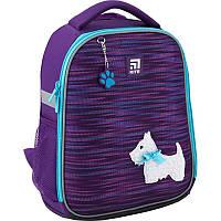 """Рюкзак ( ранец ) школьный каркасный ортопедический Kite """" Education """" Cute puppy ( K20-555S-3 )"""
