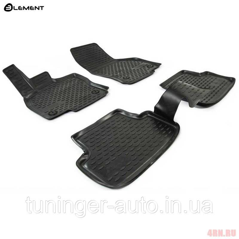 Коврики в салон Volkswagen Golf VII, 2013-> 4 шт. (полиуретан) (3D) NLC.3D.51.44.210k