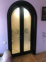 Двері арочна