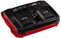 Зарядное устройство для двух аккумуляторов Einhell 18 V Power-X-Change (4512069)