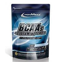 IronMaxx BCAAs + Glutamine Powder - 550 г  - персик, фото 1