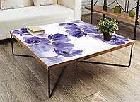 Наклейка на стол Zatarga Василек 01 650х1200мм для домов, квартир, столов, кофейн, кафе