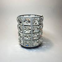 Стакан подставка в камни для инструментов (пилочек, кистей, дотсов, карандашей)